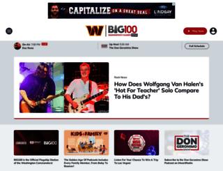wbig.iheart.com screenshot