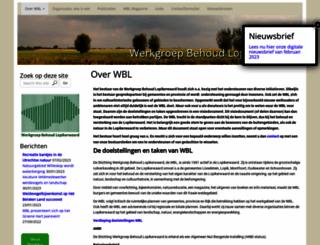 wbl-web.nl screenshot