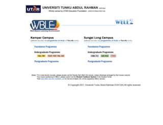 wble.utar.edu.my screenshot