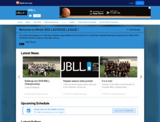 wbll.teamapp.com screenshot