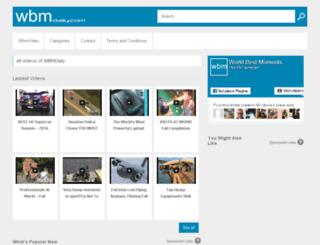 wbmdaily.com screenshot