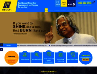 wbmdfc.org screenshot
