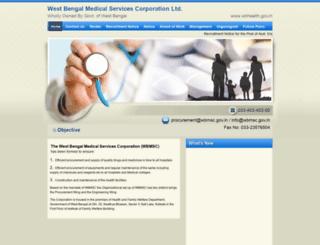 wbmsc.gov.in screenshot