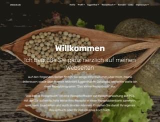 wboeck.de screenshot