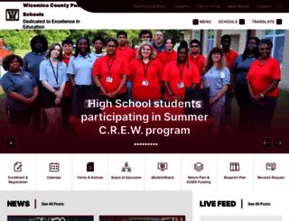 wcboe.org screenshot