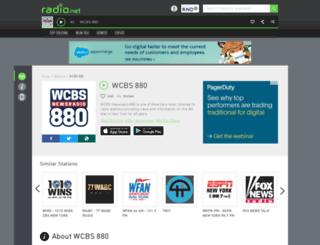 wcbs880.rad.io screenshot