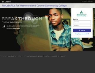wccc.mylabsplus.com screenshot