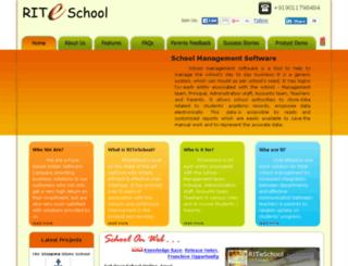 wcd.riteschool.com screenshot