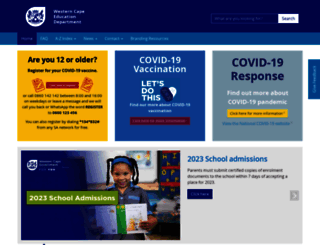 wced.school.za screenshot