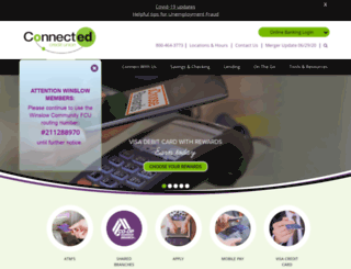 wcfcu.com screenshot
