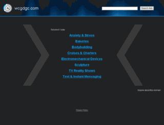 wcgdgc.com screenshot