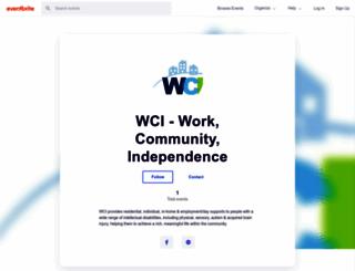 wci.eventbrite.com screenshot