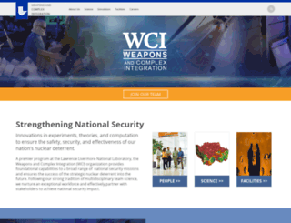 wci.llnl.gov screenshot