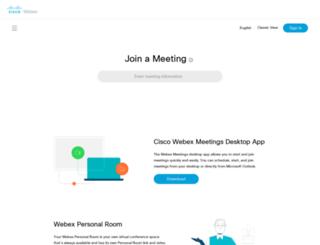 wci.webex.com screenshot