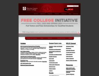 wcjc.edu screenshot