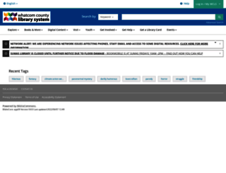 wcls.bibliocommons.com screenshot