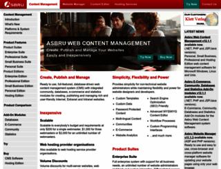 wcm.asbrusoft.com screenshot
