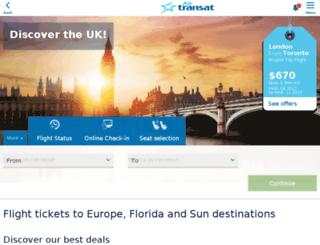 wcm.transat.com screenshot