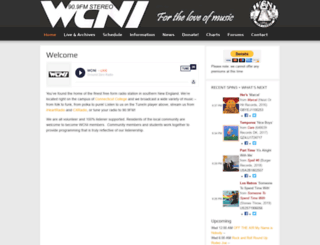 wcniradio.org screenshot