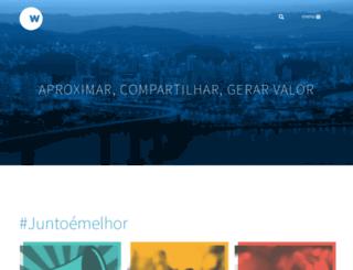 wcomunica.com.br screenshot