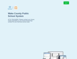 wcpss.edmodo.com screenshot
