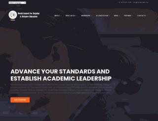 wcrde-edu.org screenshot