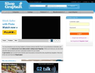 wcs.graybar.com screenshot
