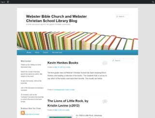 wcslibrary.edublogs.org screenshot