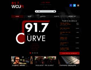 wcur.org screenshot