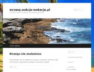wczasy.aukcje-wakacje.pl screenshot