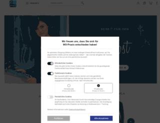 wd-praxis.de screenshot