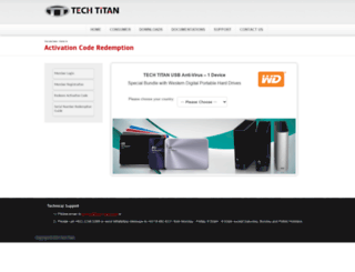 wd.tech-titan.com screenshot