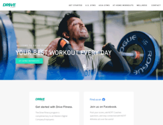 wdfitness.com screenshot