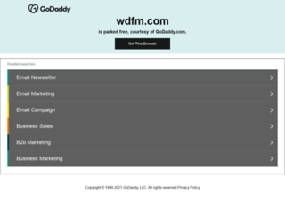 wdfm.com screenshot