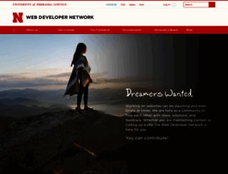 wdn.unl.edu screenshot