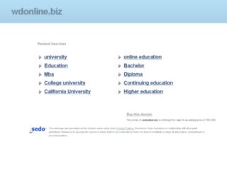 wdonline.biz screenshot