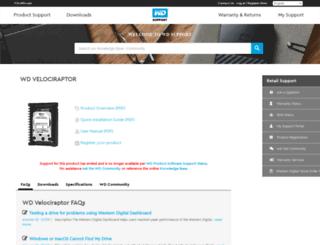 wdraptor.com screenshot
