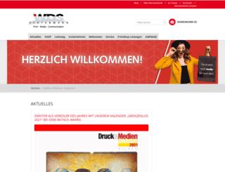 wds-pertermann.de screenshot