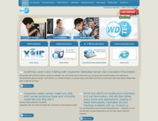 wdtel.com screenshot