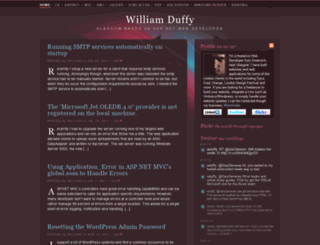 wduffy.co.uk screenshot