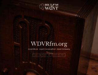 wdvrfm.org screenshot