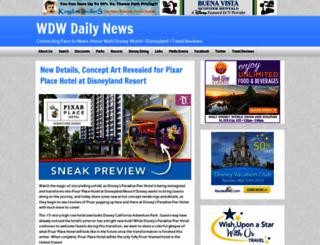 wdwdailynews.com screenshot