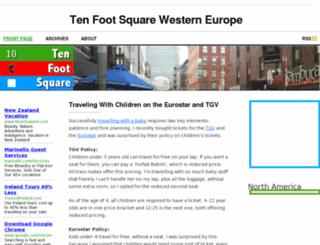 we.tenfootsquare.com screenshot