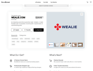 wealie.com screenshot