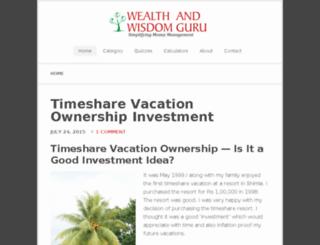 wealthandwisdomguru.com screenshot