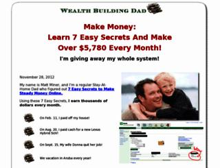 wealthbuildingdad.com screenshot