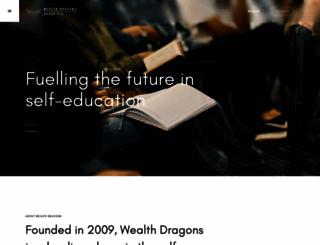 wealthdragons.co.uk screenshot