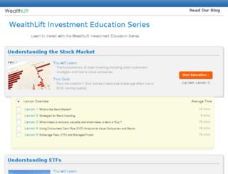 wealthlift.com screenshot