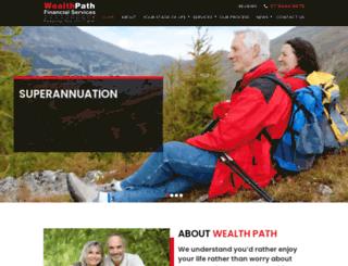 wealthpath.com.au screenshot