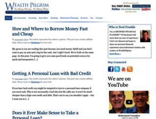 wealthpilgrim.com screenshot